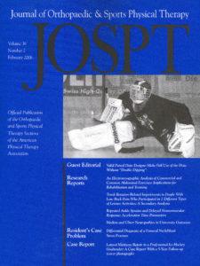 JOSPT cover