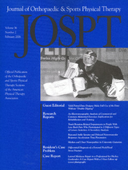 JOSPT cover
