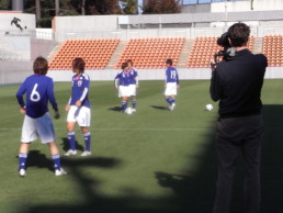 Nadeshiko players shooting