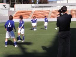 Nadeshiko players shooting