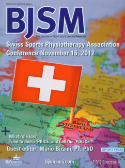 Cover March Issue BJSM
