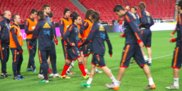 Training pic Espana