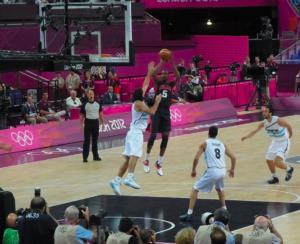 Semifinal Olympic basket