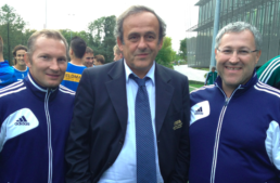 Meeting Michel Platini