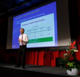 Khan at SSPA conference 2012