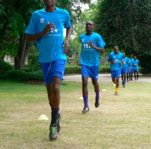 Young players at AYSA, Harare, Zimbabwe