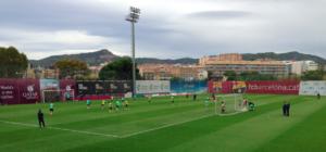 FCB at training