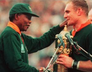 Mandela Springboks 1995