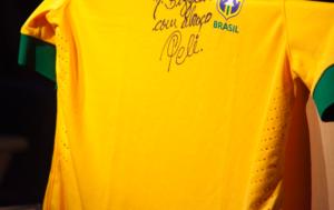 signed jersey Pele